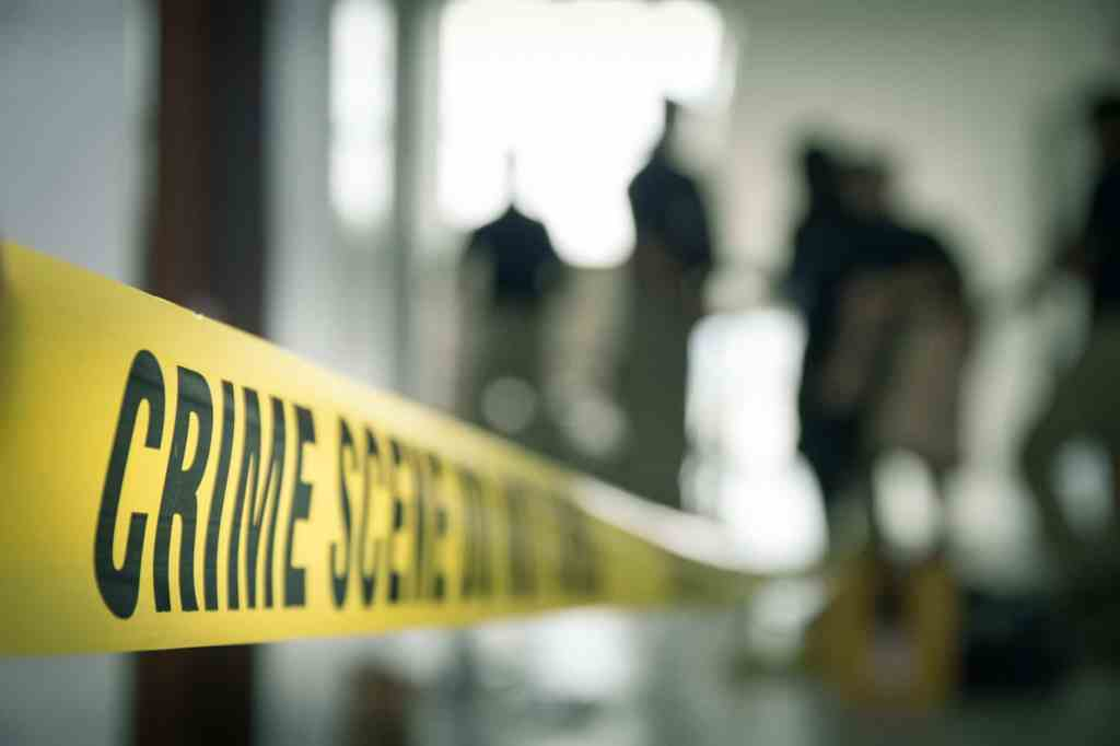 Crime scene tape. (Prathan Keawkhum/Dreamstime/TNS)