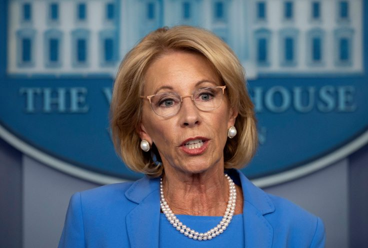 Secretary of Education Betsy DeVos / Getty Images