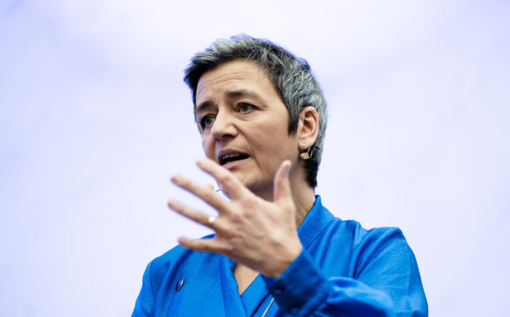 European Commission Executive Vice President Margrethe Vestager | Bart Maat/AFP via Getty Images