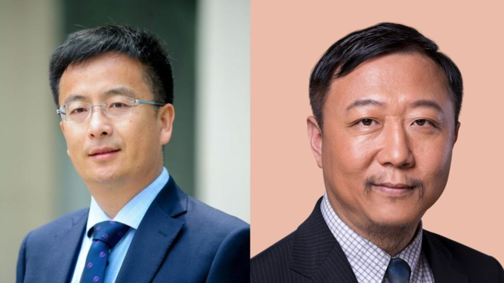 Max Shen Zuojun (left) and Gong Peng (right). Photos: Internet.