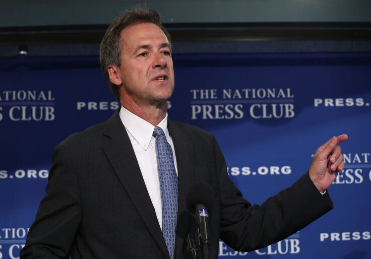 Montana Senate candidate Steve Bullock (D.) / Getty Images