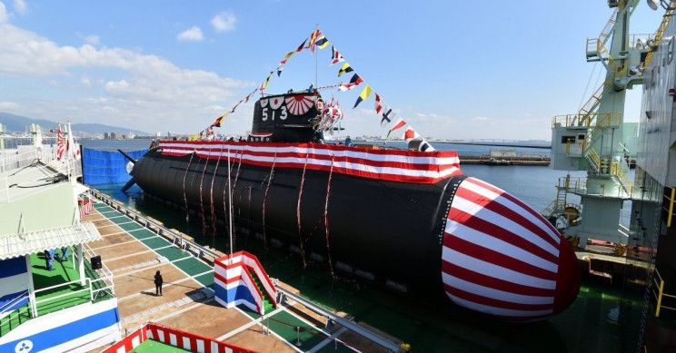 The Taigei submarine Japan Maritime Self-Defense Force