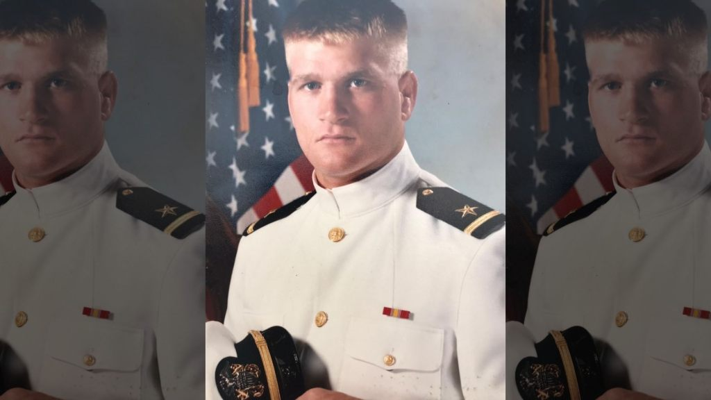 Tony Bobulinski's Navy photo. (Courtesy: Tony Bobulinski)