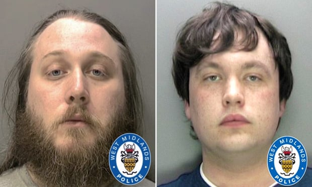 Nathan Maynard-Ellis and David Leesley, who have been found guilty of the murder of Julia Rawson.