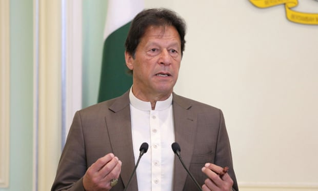 The move by Pakistan's prime minister, Imran Khan, is seen as an attempt to bolster his flagging popularity.