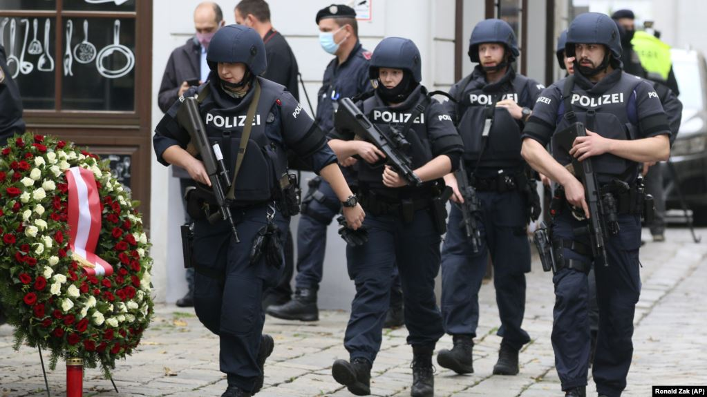 Austria has deployed some 1,000 security personnel in the manhunt following the deadly attack in Vienna on November 2.