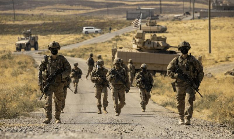U.S. soldiers in Syria, Oct. 27, 2020.