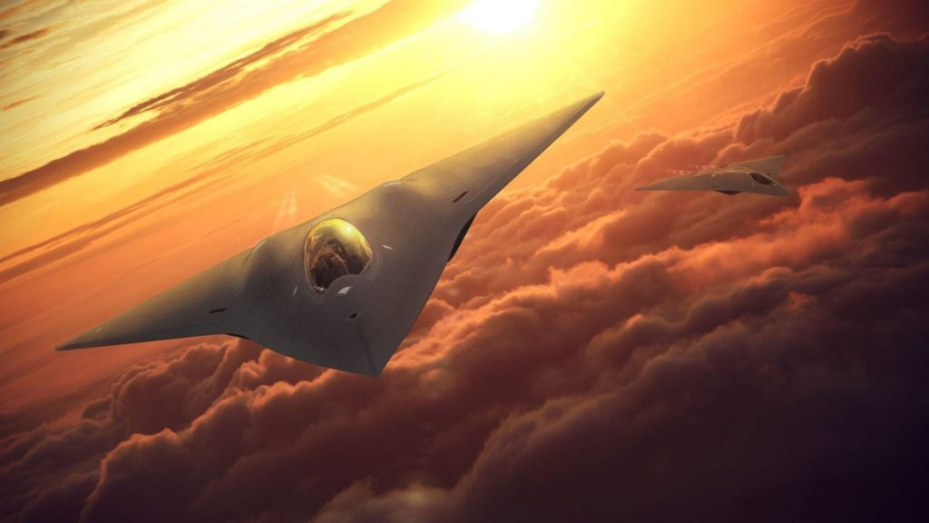 The Air Force is prototyping what its future stealth fighter jets will look like. (Lockheed Martin)