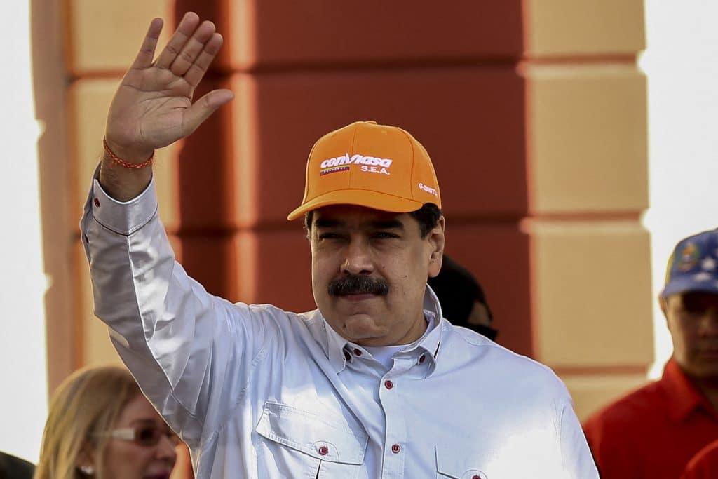 Nicolas Maduro. (Pedro Rances Mattey/DPA/Abaca Press/TNS)