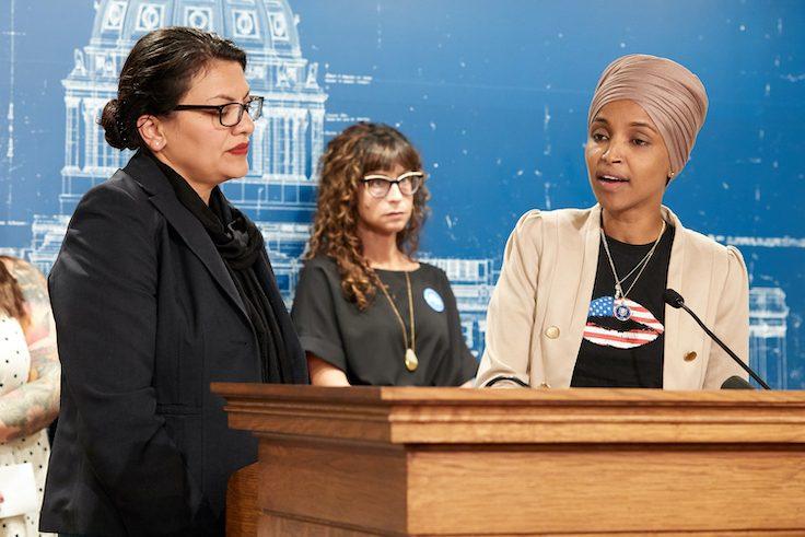 Reps. Ilhan Omar and Rashida Tlaib / Getty Images
