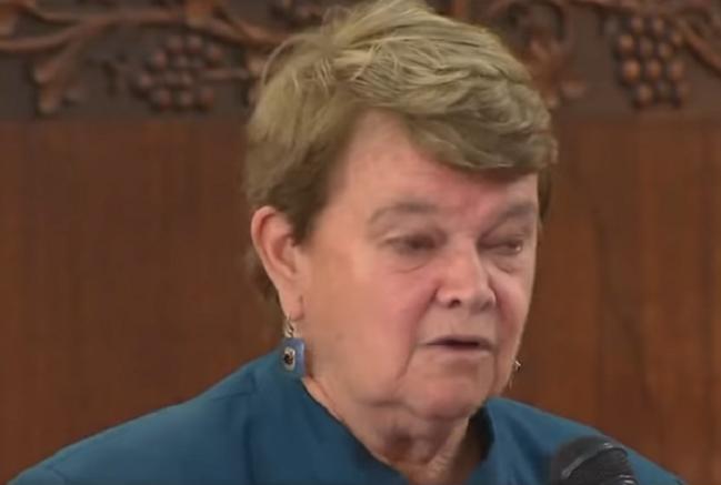 LA County supervisor, Sheila Kuehl,