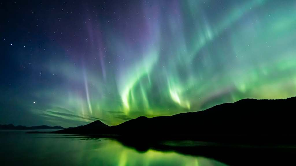 Aurora Borealis (northern lights) in southeast Alaska seen in late summer -file photo. (iStock)