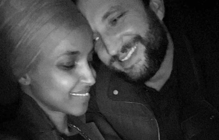 Rep. Ilhan Omar (D., Minn.) and husband Tim Mynett / Instagram