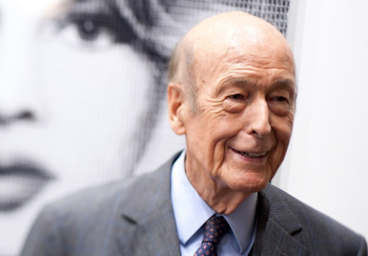Former French president Valery Giscard d'Estaing (Francois Durand/Getty Images)