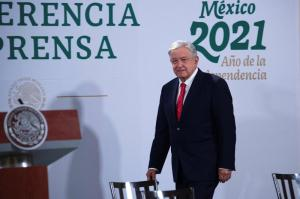 FILE PHOTO: Mexico's President Andres Manuel Lopez Obrador ,