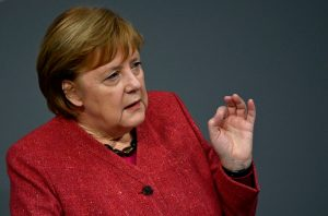 German Chancellor Angela Merkel | Tobias Schwartz/AFP via Getty Images