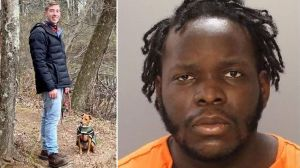 Milan Loncar, left, photographed with his rescue dog, Roo. Davis L. Josephus, right, is accused of fatally shooting Loncar while he was out walking his dog in Brewerytown Wednesday.