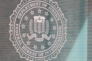 The FBI logo. | Jessica McGowan/Getty Images
