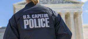 US Capitol Police at The Supreme Court. (Lorie Shaull/Flickr)
