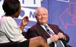 Bill Kristol, pictured speaking on a panel July 29, 2017.