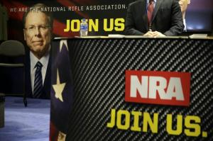 The National Rifle Association (NRA) has filed for voluntary bankruptcy and vowed to reincorporate in Texas. ALEX WONG/GETTY