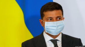 """Talking about the possible use of Russian vaccines, Zelenskiy said last week that """"Ukrainians are not guinea pigs."""" (file photo)"""