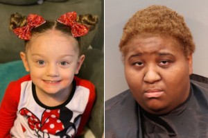 Ariel Robinson, right, has been charged in the death of her adopted child Victoria Rose Smith.