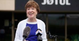 Sen. Susan Collins, July 15 (Portland Press Herald/Getty)