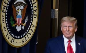 President Trump (Tasos Katopodis/Getty)