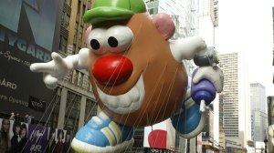 The Mr. Potato Head balloon at the 81st Annual Macy's Thanksgiving Day Parade in 2007