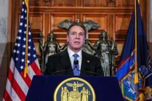 """Earlier this week, Gov. Andrew M. Cuomo stopped short of apologizing for his administration's handling of nursing homes' fatality data, repeatedly noting they had created a """"void"""" by not providing the information requested by state lawmakers."""
