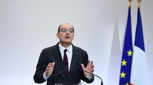 French Prime Minister Jean Castex delivers a press conference on,