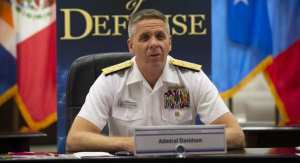 Adm. Philip S. Davidson, Commander U.S. Indo-Pacific Command, at Chiefs of Defense (CHODS) conference in Aug. 2020.