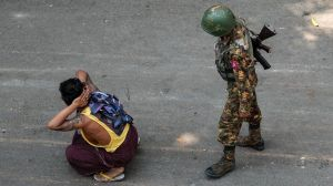 Human rights groups are calling on Myanmar's military to end it's use of lethal force against civilians