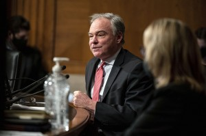 Sen. Tim Kaine, along with Sen. Chris Murhpy, has long pushed to repeal the 2001 Authorization for Use of Military Force and the 2002 Iraq War authorization and institute new guidelines for Congress to approve military action.
