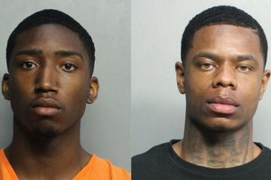 The men, Evoire Collier, 21, and Dorian Taylor, 24,