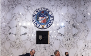 The Senate Judiciary Committee assembles for a session on US gun violence. Tasos Katopodis/Getty Images