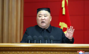The government of Kim Jong Un had complained about U.S.-South Korean military exercises. (Str/AFP/Getty Images)