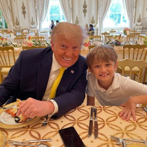 The Trump family got to spend some quality time together. Instagram.
