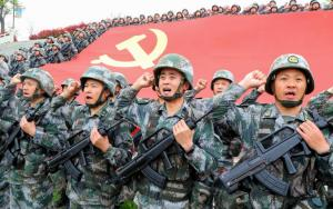 Chinese military April 13, 2021 in Luoyang, Henan, China. (Jia Fangwen/VCG via Getty Images)