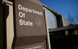 State Department sign in 2017 (Win McNamee/Getty Images)