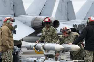 Checkered Flag 21-2 Missile Loads (U.S. Air Force Photo by Brad Sturk)