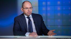 Health Minister Maksym Stepanov