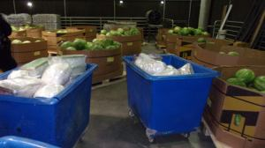 CBP officers in California discovered more than 1,100 pounds of methamphetamine hidden,