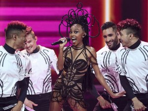 Israel's Eden Alene performs during the first semi-final of the 65th edition of the Eurovision Song Contest 2021,