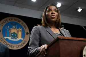 NY's AG Letitia James,