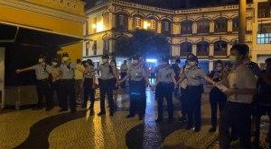 On June 4, 2020, Macau police dispersed crowd who remain at Senado where annual Tiananmen vigil takes place annually.