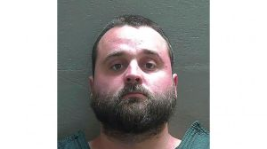 In this undated booking photo released by the Escambia County Sheriff's Office is Jared Paul Stanga, 30, in Fla.