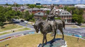 Tuesday, June 8, 2021, in legal challenges to Virginia Gov. Ralph Northam's plan to take down the 131-year-old statue of Confederate Gen. Robert E. Lee.