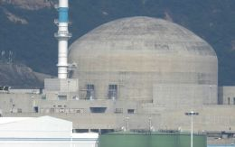 A containment building at Taishan nuclear power plant.